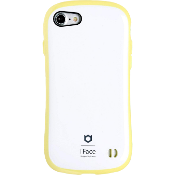 iFace First Class Pastel ケース(ホワイト/イエロー)
