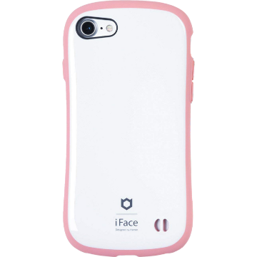 iFace First Class Pastel ケース(ホワイト/ピンク)