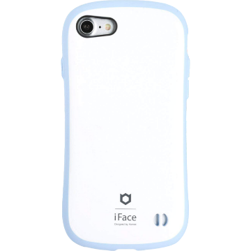 iFace First Class Pastel ケース(ホワイト/ブルー)