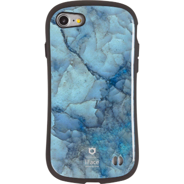 iFace First Class Marble ケース(ブルー)