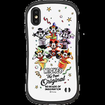 ミッキーマウス90周年記念 /  ディズニーキャラクター iFace First Class ケース(ミッキーマウス/集合/ホワイト)