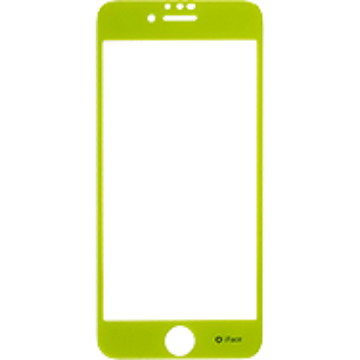 iFace Round Edge Color Glass Screen Protector  ラウンドエッジ強化ガラス 液晶保護シート(グリーン)