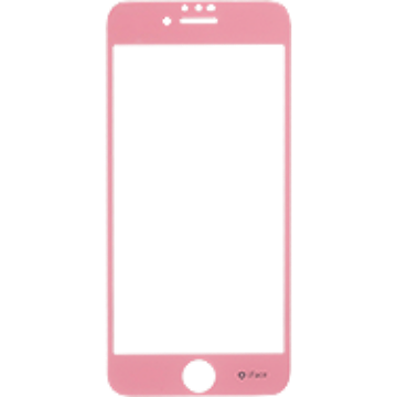 iFace Round Edge Color Glass Screen Protector  ラウンドエッジ強化ガラス 液晶保護シート(ベビーピンク)
