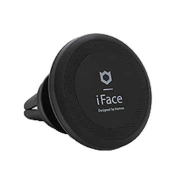 iFace PREMIUM MAGNETIC CAR MOUNT AIR VENT TYPE(ブラック)