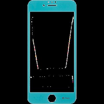 iFace Round Edge Color Glass Screen Protector  ラウンドエッジ強化ガラス 液晶保護シート(エメラルド)