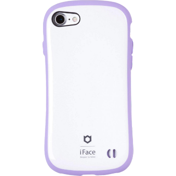 iFace First Class Pastel ケース(ホワイト/パープル)