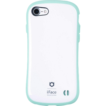 iFace First Class Pastel ケース(ホワイト/ミント)