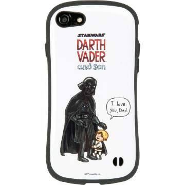STAR WARS iFace First Class ケース(DARTH VADER and sonシリーズ/ダース・ヴェイダーとルーク)