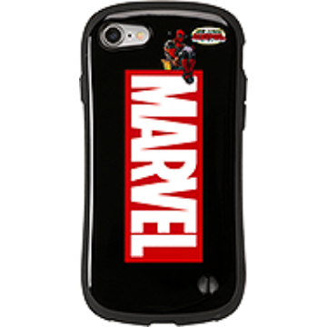 MARVEL/マーベル デッドプール iFace First Classケース(ロゴ/ブラック)