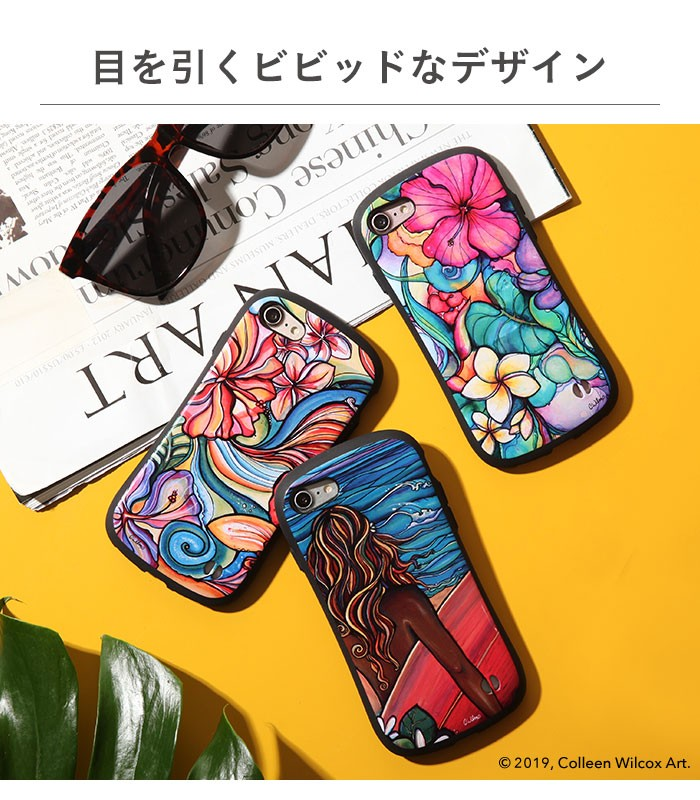 [iPhone 8/7/XS/X/XS Max/XR専用]コリーンウィルコックス/Colleen Wilcox iFace First Class