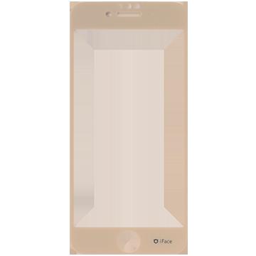 iFace Round Edge Color Glass Screen Protector  ラウンドエッジ強化ガラス 液晶保護シート(Reflection/ベージュ)