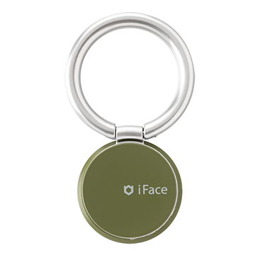 iFace Finger Ring Holderスキニータイプ(Reflection/カーキ)