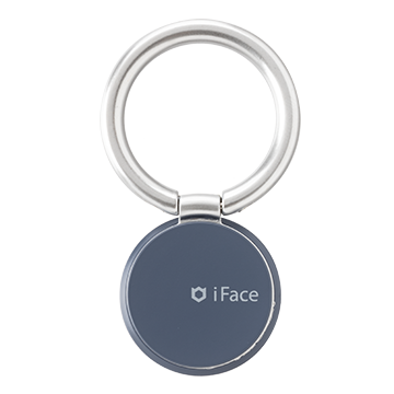 iFace Finger Ring Holder スキニータイプ(Reflection/ネイビー)