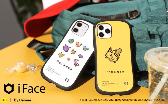 「iFace」×「ポケットモンスター」から iPhone12 対応ケースがあの懐かしのドット絵で新発売
