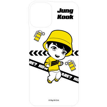 TinyTAN iFace Reflection専用インナーシート(MIC DROP/Jung Kook)