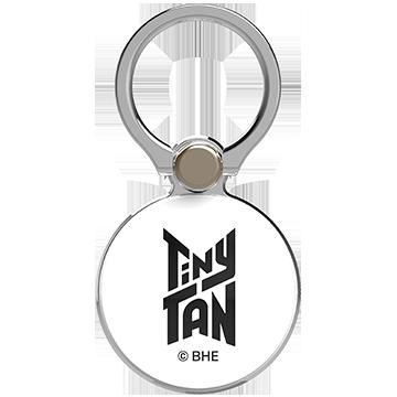 TinyTAN iFace Finger Ring Holder アウターサークルタイプ(Basic/Logo BK)