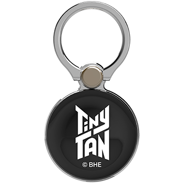 TinyTAN iFace Finger Ring Holder アウターサークルタイプ(Basic/Logo WH)