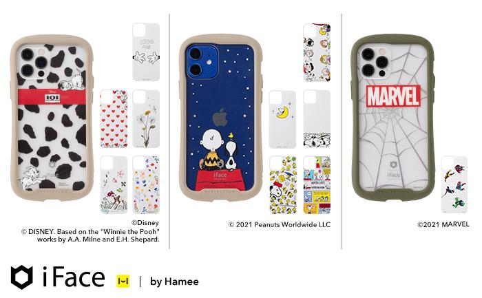 iFace iPhone 12 / 12 Pro / 12 mini キャラクター・インナーシート 発売!
