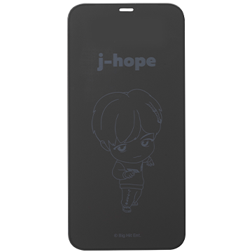 TinyTAN iFace Round Edge Tempered Glass Screen Protector ラウンドエッジ強化ガラス 画面保護シート(j-hope)